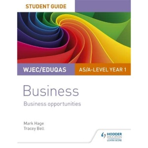 WJEC/Eduqas AS/A-level Year 1 Business Student Guide 1: Business Opportunities