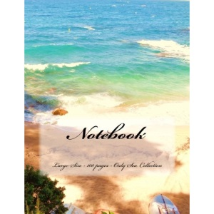 Notebook - Large Size - 100 pages - Only Sea Collection: Original Design 4