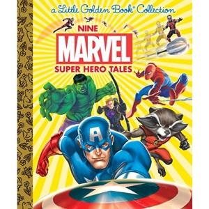 Nine Marvel Super Hero Tales (Marvel) (Little Golden Book Treasury)