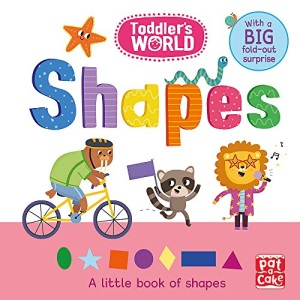 Shapes: A little board book of shapes with a fold-out surprise (Toddler's World)