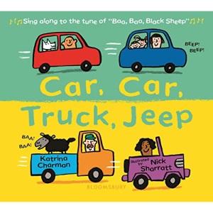 Car, Car, Truck, Jeep (New Nursery Rhymes)