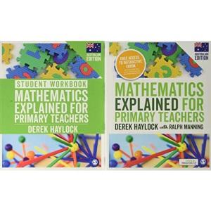 Haylock: Mathematics Explained for Primary Teachers (Australian edition) + Student Workbook bundle