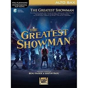 Instrumental Play-Along: The Greatest Showman - Alto Saxophone (Book/Online Audio) (Hal-Leonard Instrumental Play-Along)