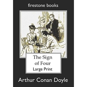 The Sign of Four: Large Print