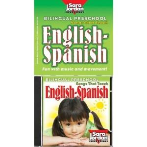 Bilingual Preschool: Songs That Teach English-Spanish (Bilingual Songs Songs-Spanish)