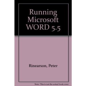 Running Microsoft WORD 5.5