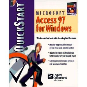 Microsoft Access 97 for Microsoft Windows Quickstart (QuickStart Series)