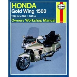 Honda GL 1500 Gold Wing Owners Workshop Manual: 1988-2000 (Haynes Owners Workshop Manuals)
