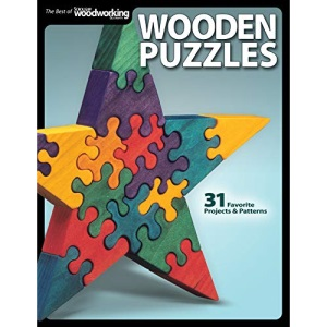 Wooden Puzzles (Scroll Saw Woodworking & Crafts Book)