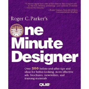 Roger Parker's One Minute Designer