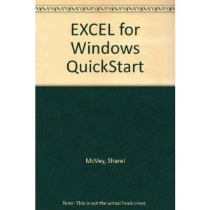 EXCEL for Windows QuickStart