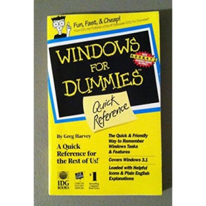 Windows for Dummies Quick Reference