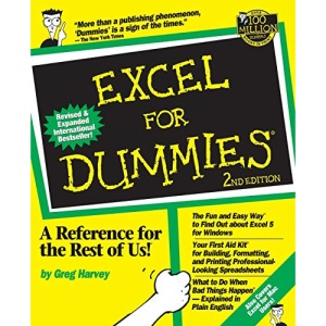 Excel For Dummies, 2nd Edition: 2nd Edition (For Dummies S.)