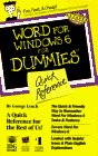 Word 6 for Windows for Dummies Quick Reference