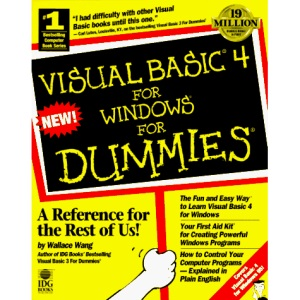 Visual Basic 4.0 Programming For Dummies (For Dummies S.)