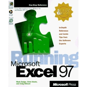 Running Microsoft Excel 97 for Windows Select Edition