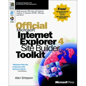 Official Internet Explorer 4 Sitebuilder Kit