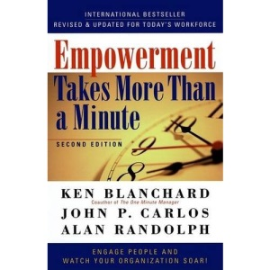 Empowerment Takes More Than a Minute (UK PROFESSIONAL BUSINESS Management / Business)