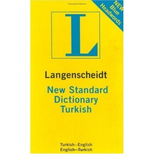 New Standard Turkish Dictionary (Langenscheidt Compact Dictionaries)