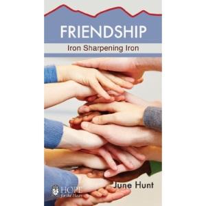 Friendship Minibook: Iron Sharpening Iron (Hope for the Heart)