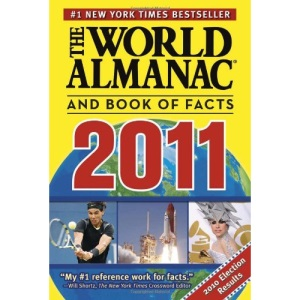 The World Almanac(r) and Book of Facts 2011 (World Almanac & Book of Facts)