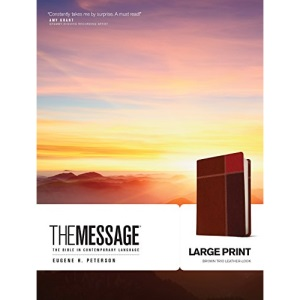 Message Large Print, The: The Bible in Contemporary Language (The Message Bibles)