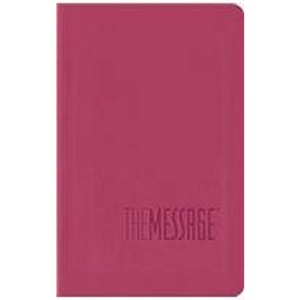 Message Bible, Compact, Imitation Leather, Pink (The Message Bibles)