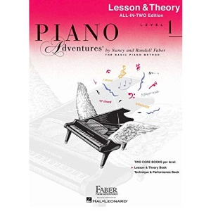 Piano Adventures Lesson & Theory Level 1 (Faber Piano Adventures): Lesson & Theory - Anglicised Edition