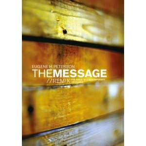 The Message//REMIX 2.0 Wood Paperback (Growing in Christ)