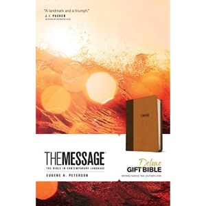 Message Deluxe Gift Bible: The Bible in Contemporary Language