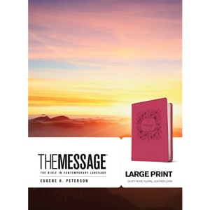 Message Large Print, The: The Bible in Contemporary Language