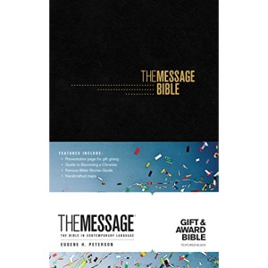 Message Gift and Award Bible Black, The