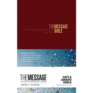 Message Gift and Award Bible Burgundy, The