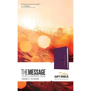 Message Deluxe Gift Bible, Purple: The Bible in Contemporary Language