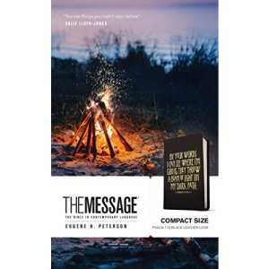 Message Compact (Leather-Look), The: The Bible in Contemporary Language