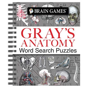 Brain Games - Gray's Anatomy Word Search Puzzles