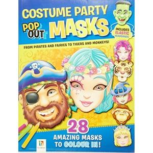 Costume Party Pop Up Masks