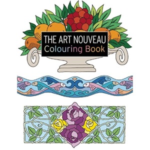 The Art Nouveau Colouring Book: Large and Small Projects to Enjoy (Search Press Colouring Books)