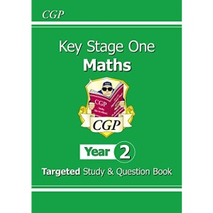 KS1 Maths Targeted Study & Question Book - Year 2: perfect for catch-up and learning at home (CGP KS1 Maths)