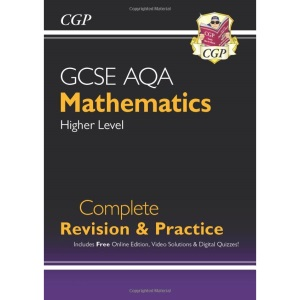 New 2021 GCSE Maths AQA Complete Revision & Practice: Higher inc Online Ed, Videos & Quizzes: perfect for catch-up and the 2022 and 2023 exams (CGP GCSE Maths 9-1 Revision)