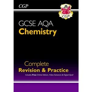 New GCSE Chemistry AQA Complete Revision & Practice includes Online Ed, Videos & Quizzes (CGP GCSE Chemistry 9-1 Revision)