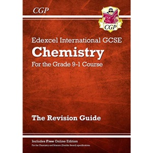 Grade 9-1 Edexcel International GCSE Chemistry: Revision Guide with Online Edition: ideal for catch-up and exams in 2022 and 2023 (CGP IGCSE 9-1 Revision)