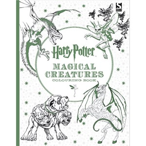 Harry Potter Magical Creatures Colouring Book 2