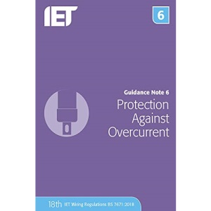Guidance Note 6: Protection Against Overcurrent (Electrical Regulations)