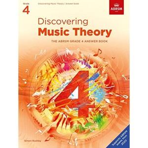 Discovering Music Theory, The ABRSM Grade 4 Answer Book: Answers (Theory workbooks (ABRSM))