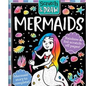 Scratch and Draw Mermaids – Scratch Art Activity Book