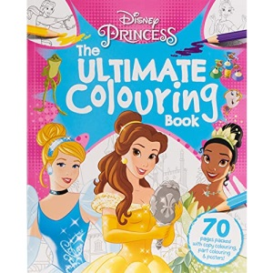 Disney Princess - Mixed: The Ultimate Colouring Book (Mammoth Colouring Disney)