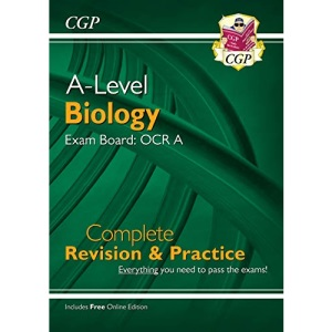 A-Level Biology: OCR A Year 1 & 2 Complete Revision & Practice with Online Edition: ideal for catch-up and the 2022 and 2023 exams (CGP A-Level Biology)