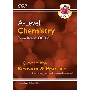 A-Level Chemistry: OCR A Year 1 & 2 Complete Revision & Practice with Online Edition: perfect for catch-up and the 2022 and 2023 exams (CGP A-Level Chemistry)