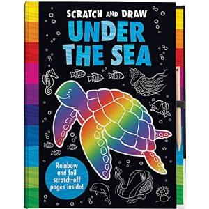 Scratch & Draw Ocean Animals – Scratch Art Activity Book (Scratch and Draw)